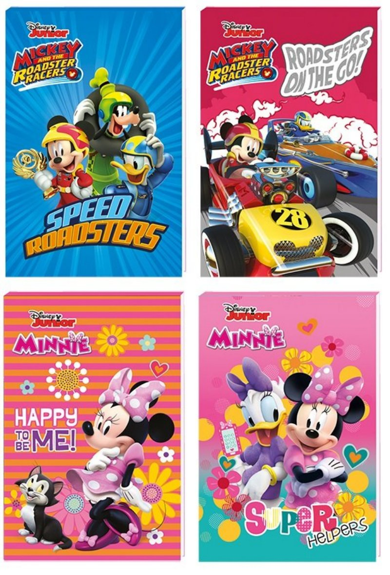 Notes A6 Disney Junior Mickey a Minnie