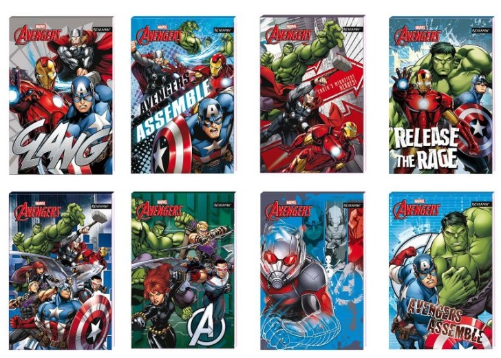 Notes A7 Avengers