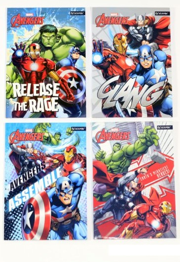 Notes A6 Avengers
